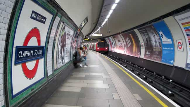 London Underground is listed (or ranked) 2 on the list 26 Famous Locations That Are Suicide Magnets