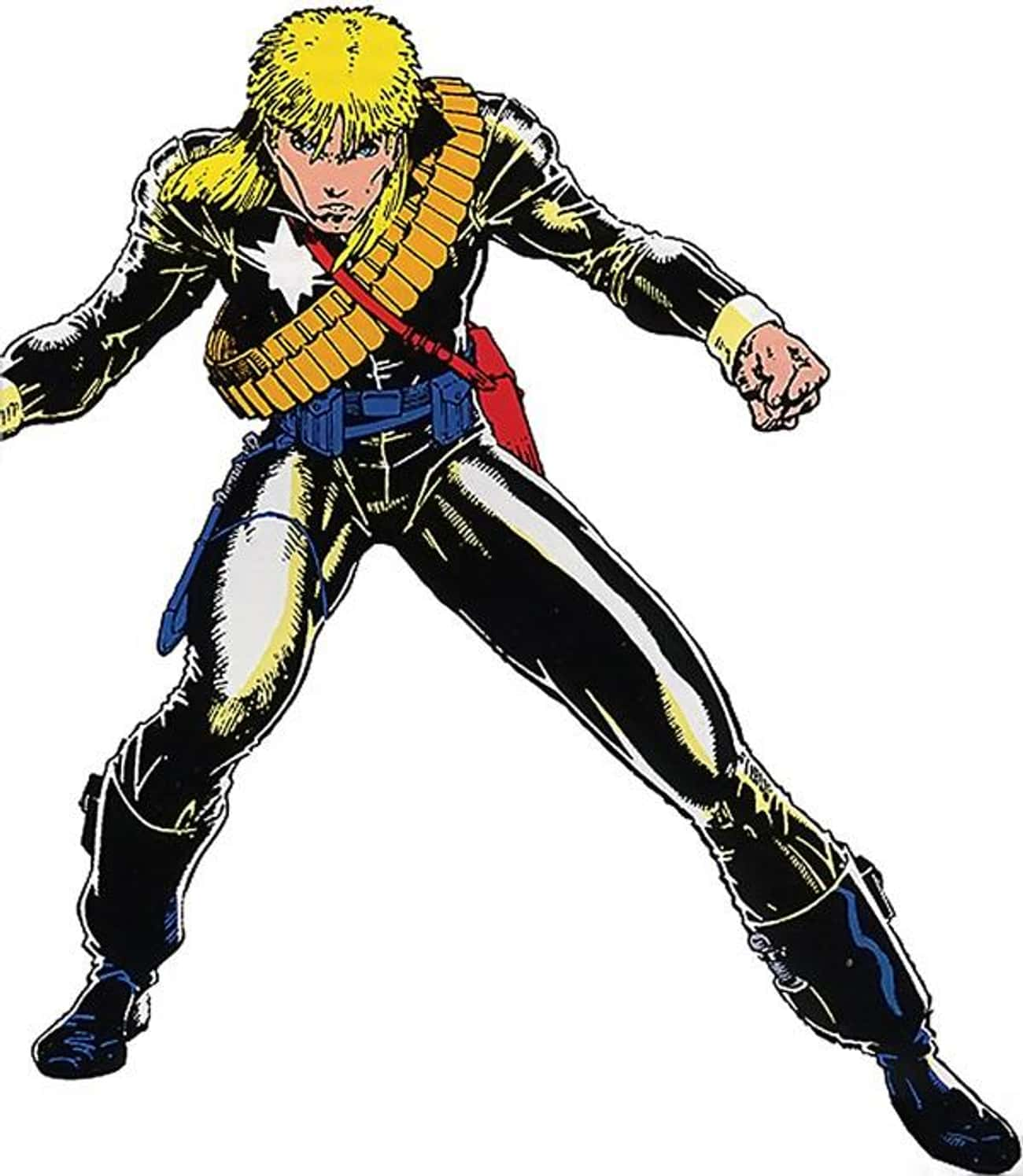 Longshot Loves Bon Jovi is listed (or ranked) 3 on the list The Worst Haircuts Ever Sported by Superheroes