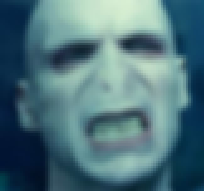 Lord Voldemort is listed (or ranked) 4 on the list The Best Movie Villains of All Time