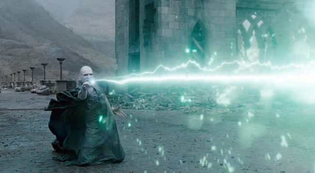 Lord Voldemort is listed (or ranked) 2 on the list The Most Powerful Wizards In The 'Harry Potter' Franchise, Ranked