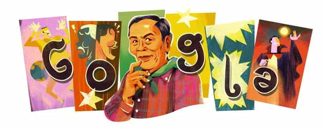 Lor Tok is listed (or ranked) 1152 on the list Every Person Who Has Been Immortalized in a Google Doodle