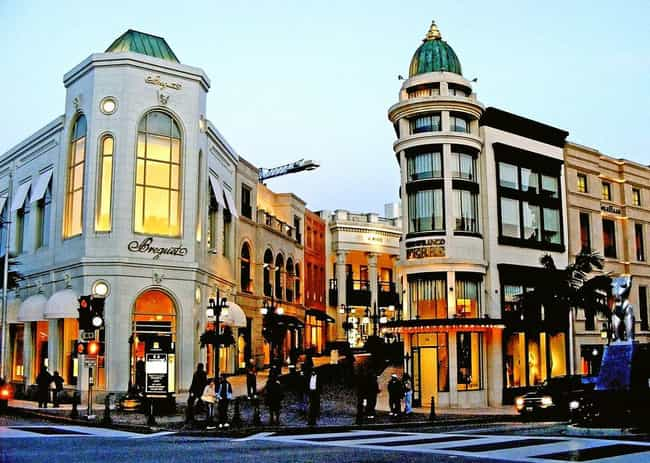 Los Angeles is listed (or ranked) 2 on the list The Most Expensive Commercial Streets in North America
