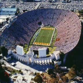 Los Angeles Memorial Coliseum is listed (or ranked) 23 on the list The Best College Football Stadiums