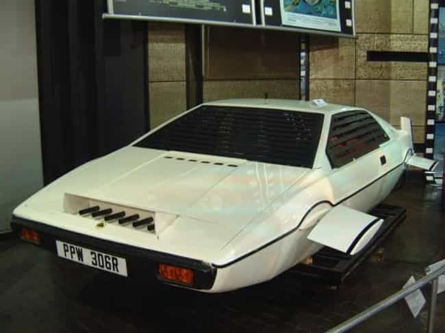 Lotus Esprit is listed (or ranked) 4 on the list The Best James Bond Cars