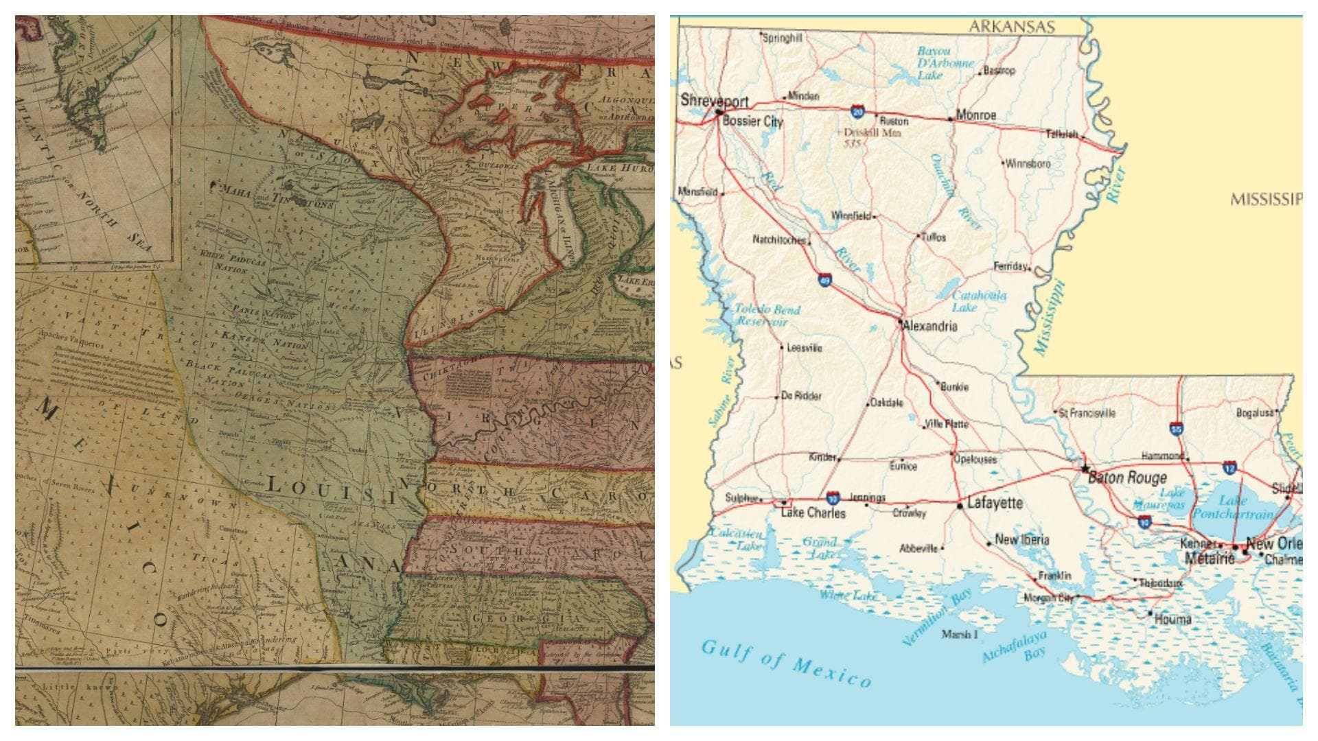 Random US States That Looked Dramatically Different When They Were Proposed