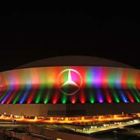 Mercedes-Benz Superdome is listed (or ranked) 15 on the list The Best NFL Stadiums