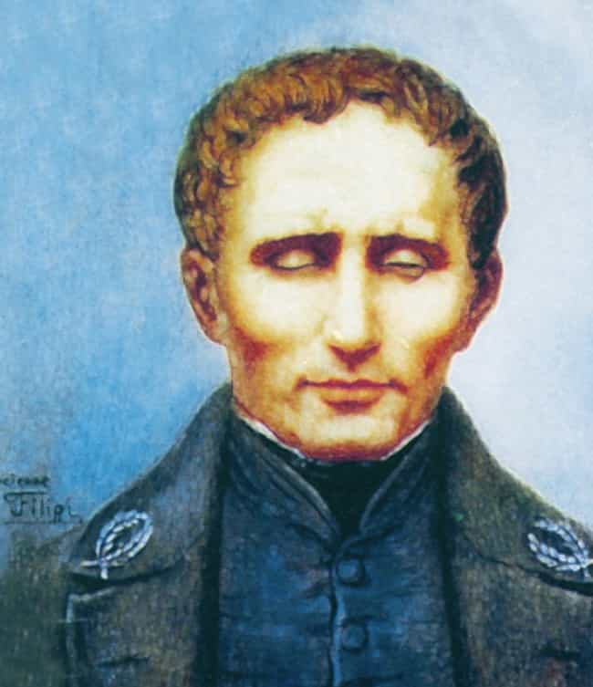 Louis Braille is listed (or ranked) 1 on the list 19 Things People Accomplished When They Were Teenagers