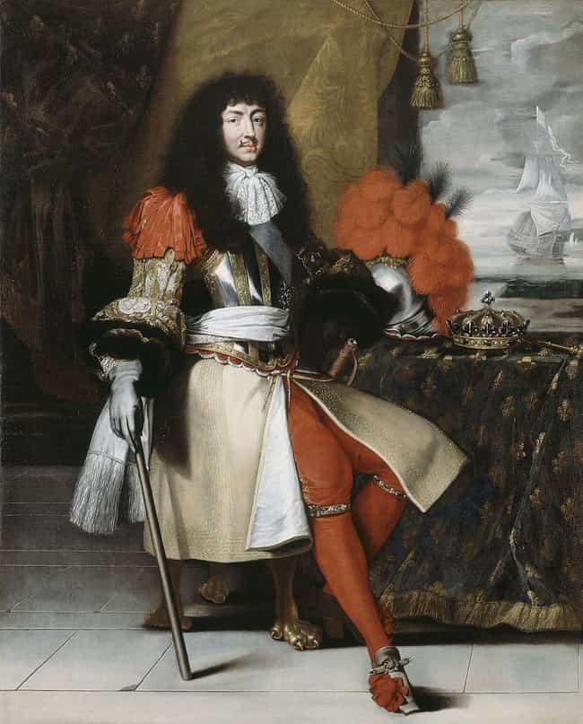 Louis XIV of France is listed (or ranked) 3 on the list 16 Famous Bodies From History Found In Inconspicuous Places