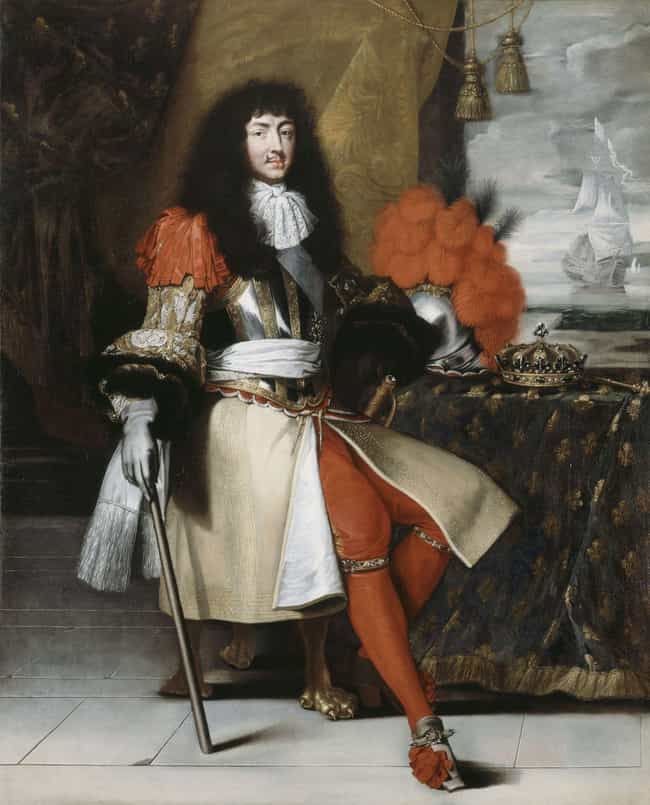 Louis XIV of France is listed (or ranked) 4 on the list What The Drink Of Choice Was For Historical Royals