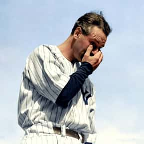 Lou Gehrig is listed (or ranked) 3 on the list Athletes Whose Careers Ended Too Soon