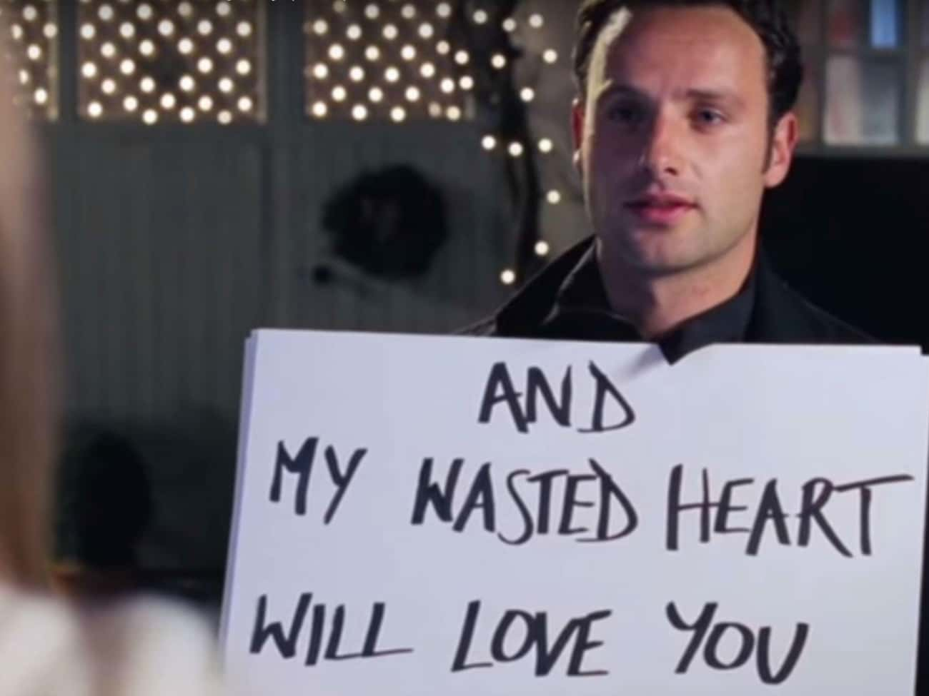 In Love Actually, Mark Provides A Step-By-Step Guide For Turning A Woman Into An Object