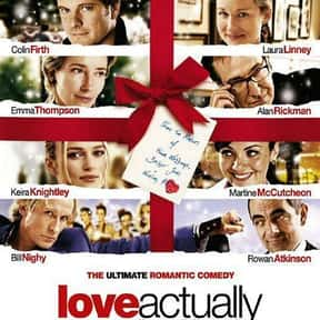 Love Actually is listed (or ranked) 14 on the list The Funniest Movies About Marriage