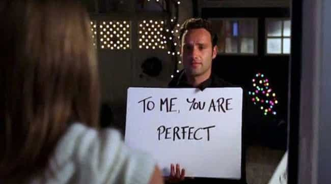Love Actually is listed (or ranked) 6 on the list 12 Rom-Com Plots That Are Actually The Stuff Of Nightmares