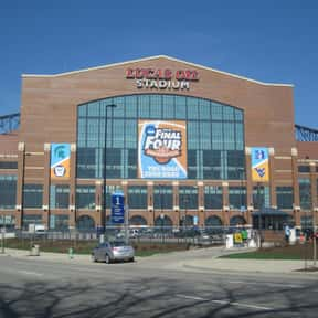 Lucas Oil Stadium is listed (or ranked) 9 on the list The Best NFL Stadiums