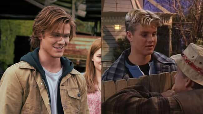 Lucas Till is listed (or ranked) 2 on the list How 'Home Improvement' Would Be Cast If It Aired Today