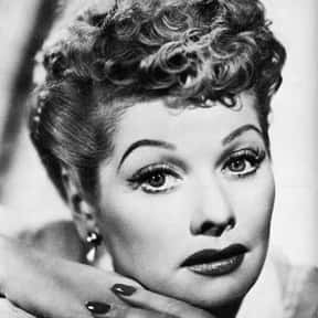 Lucille Ball is listed (or ranked) 23 on the list The Greatest Entertainers of All Time