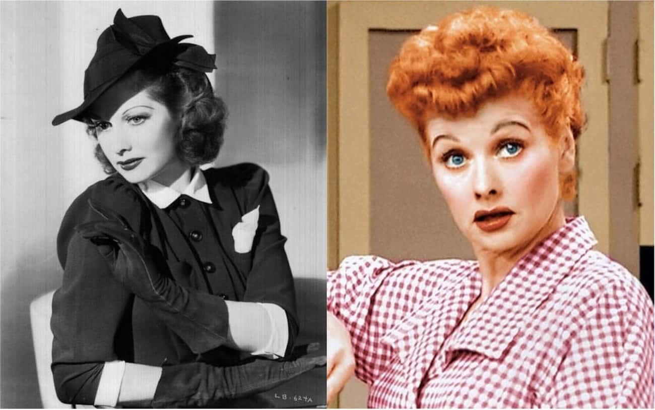 Lucille Ball is listed (or ranked) 3 on the list Female Celebrities Whose Careers Took Off After They Dyed Their Hair