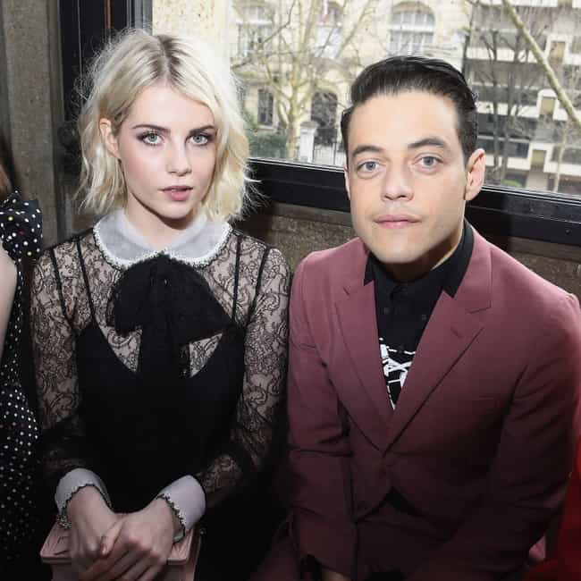 Lucy Boynton is listed (or ranked) 1 on the list Rami Malek Loves and Hookups