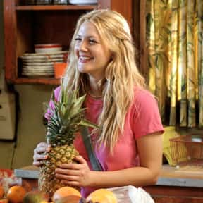Lucy Whitmore is listed (or ranked) 1 on the list List of 50 First Dates Characters