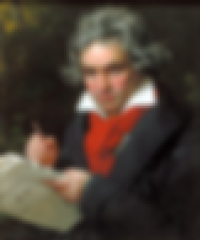 Ludwig van Beethoven is listed (or ranked) 4 on the list Historical Figures Whose Body Parts Went Missing for Strange Reasons
