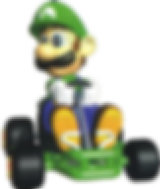 Luigi is listed (or ranked) 2 on the list Special Things Every Mario Kart 64 Character Does Better Than The Others