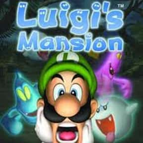 Luigi's Mansion is listed (or ranked) 20 on the list The Best GameCube RPGs of All Time, Ranked by Fans