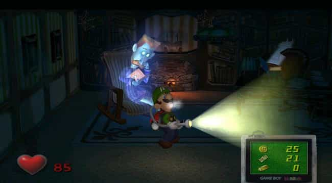 Luigi's Mansion is listed (or ranked) 2 on the list Video Games You Got Rid Of That Are Worth An Insane Amount Of Money Today