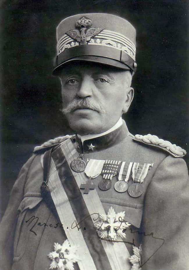 Luigi Cadorna is listed (or ranked) 2 on the list The Worst World War I Generals