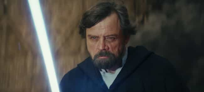 Luke Skywalker is listed (or ranked) 4 on the list Which Jedi Or Sith Would Win In An All-Out Battle?