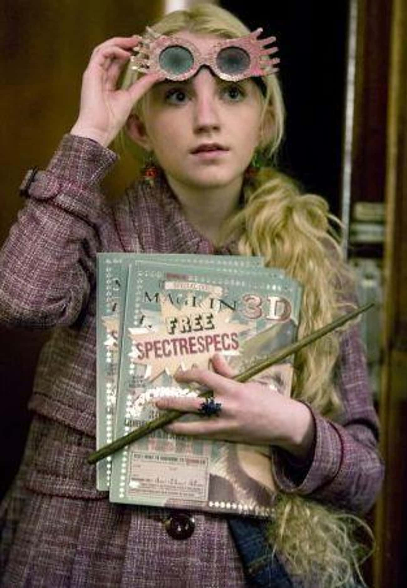 Luna Lovegood is listed (or ranked) 1 on the list The Best Members of Ravenclaw