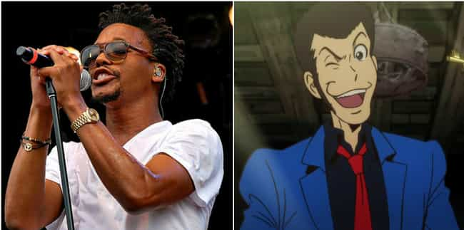 Lupe Fiasco is listed (or ranked) 4 on the list 16 Rappers You Didn't Realize Love Anime