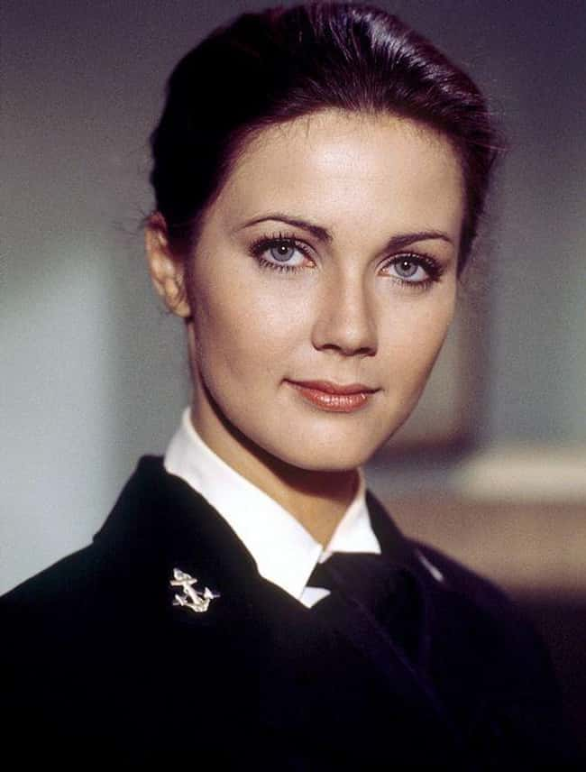 Lynda Carter is listed (or ranked) 29 on the list The Most Captivating Celebrity Eyes (Women)