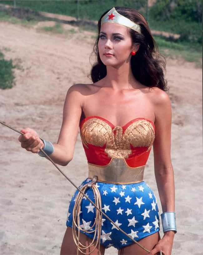 Lynda Carter is listed (or ranked) 3 on the list Famous People of Mexican Descent