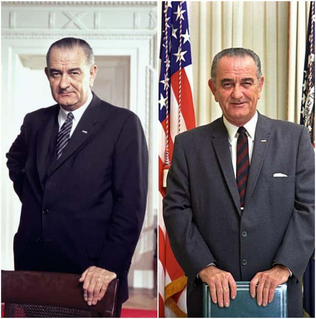 Lyndon B. Johnson is listed (or ranked) 11 on the list U.S. Presidents Before and After Major Historical Events