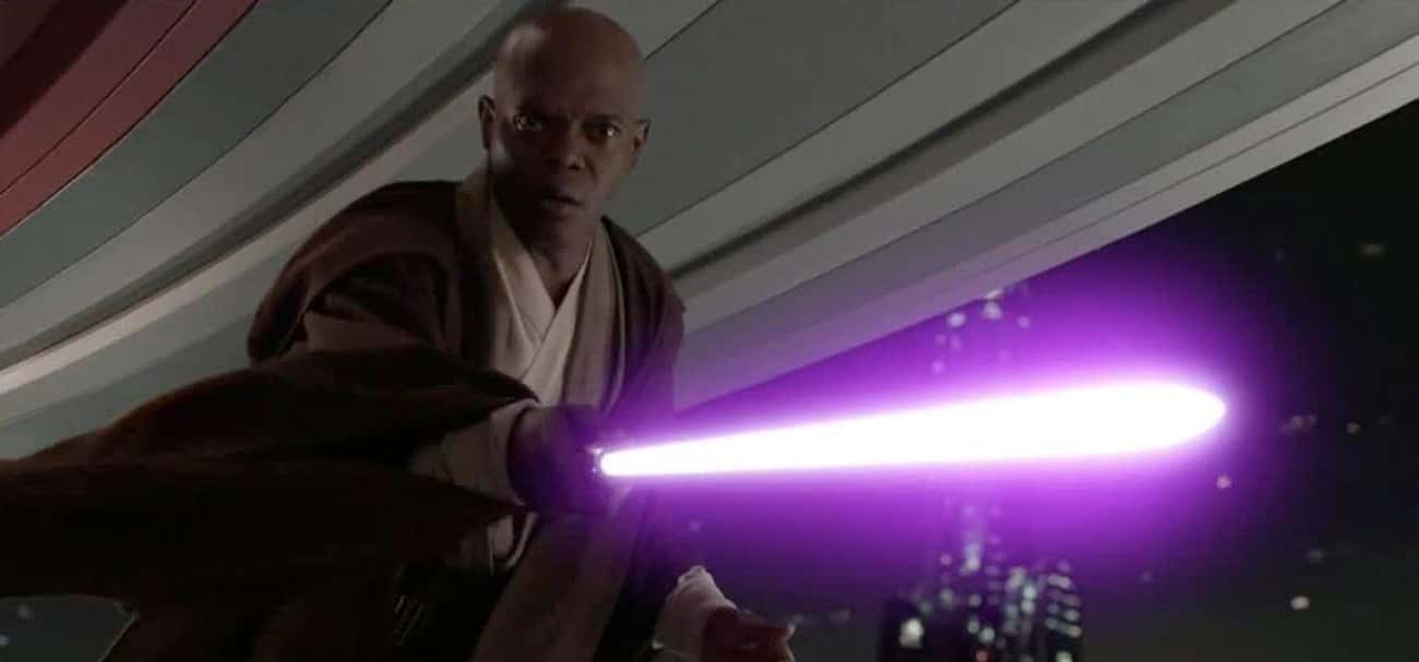 Mace Windu is listed (or ranked) 4 on the list Which Jedi Or Sith Would Win In An All-Out Battle?