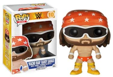 "Randy ""Macho Man"" Savage is listed (or ranked) 2 on the list The Best WWE Funko Pop! Collectibles"