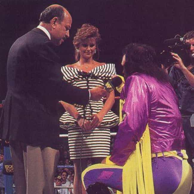 Randy Savage is listed (or ranked) 4 on the list The Moments That Made Wrestling Fans Cry Like Babies