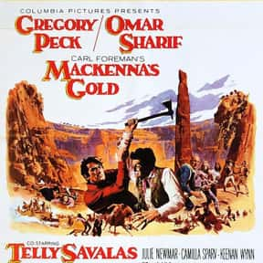 Mackenna's Gold is listed (or ranked) 25 on the list The Greatest Western Movies of the 1960s
