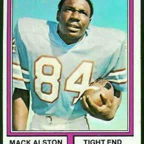 Mack Alston is listed (or ranked) 24 on the list The Best Tennessee Titans Tight Ends Of All Time