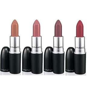 MAC is listed (or ranked) 7 on the list The Best Lipstick Brands