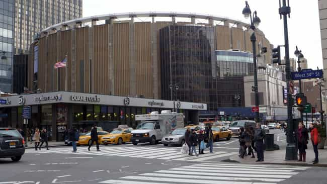 Madison Square Garden is listed (or ranked) 3 on the list The Best NHL Arenas