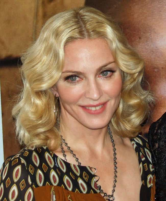 Madonna is listed (or ranked) 6 on the list Celebrities Who Were Abused