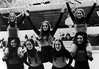 Madonna is listed (or ranked) 1 on the list 33 Celebrities You Probably Didn't Expect To Be Cheerleaders