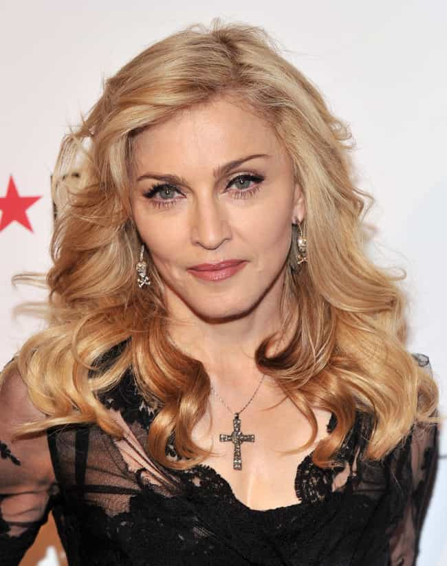 Madonna is listed (or ranked) 3 on the list Female Celebrities Who Are 5'4