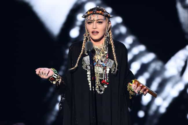 Madonna is listed (or ranked) 7 on the list Celebrities Who Broke the Internet in 2018