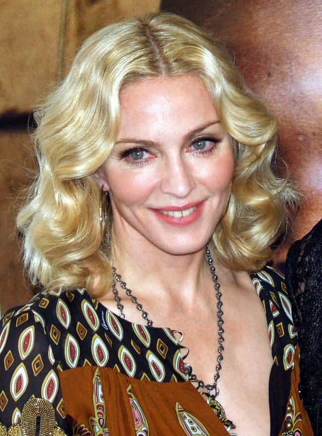 Madonna is listed (or ranked) 4 on the list Celebrities Who Study Martial Arts