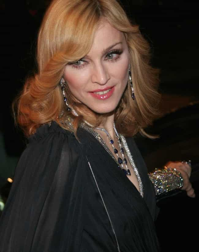 Madonna is listed (or ranked) 4 on the list 20 Celebrities Who Did Ballet
