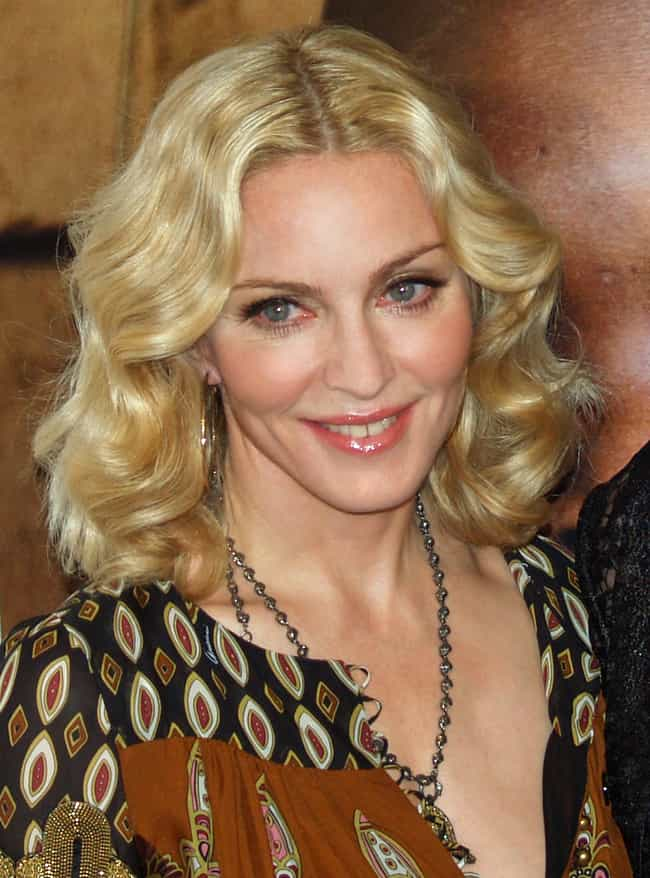 Madonna is listed (or ranked) 3 on the list Celebrities With Gap Teeth
