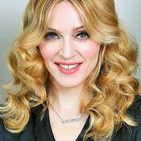 Madonna is listed (or ranked) 8 on the list The Female Singer You Most Wish You Could Sound Like