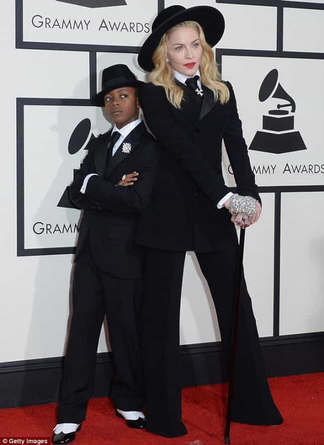 Madonna is listed (or ranked) 2 on the list Celebrities Who Took Their Kids to Awards Shows